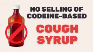 selling codeine cough syrup in singapore