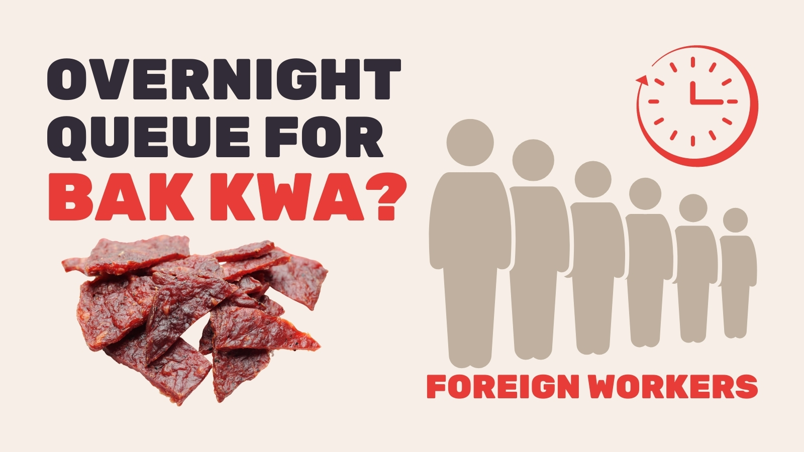 foreign worker bak kwa queue singapore